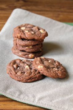 Hot Chocolate Mix Cookies. I need to make a few batches of these to use up the leftover hot chocolate mix.