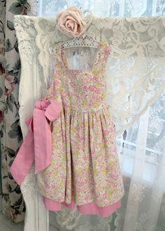 Childs Jumper Dress Childs Size 2T Girls Corduroy by enfantjoli