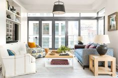 A Downtown Manhattan Apartment That's Filled with Uptown Pattern and Charm