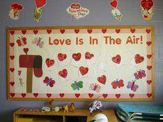 Bulletin Boards & Doors for Valentines Day ♥
