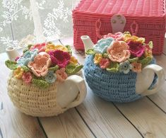 Crochet tea cozy                                                                                                                                                     More