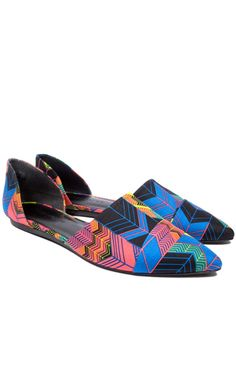 Jenni Kayne D'Orsay Silk/Wool Flat, $226 (originally $565), available at Les Nouvelles.