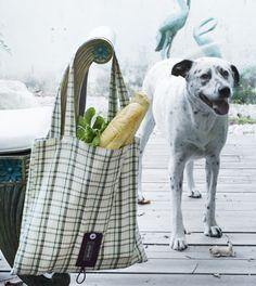 Shopping bag, kitchen textile www.dishwish.co.il