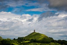 St Michael's Tower, Glastonbury Tor, Glastonbury, Somerset, England - Spent an entire rainy afternoon lost on the Tor as a child! Glastonbury Somerset, Glastonbury Tor, Glastonbury England, Somerset England, England And Scotland, England Uk, Best Hotel Deals, Best Hotels, Places To Travel