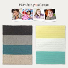 We've teamed up with Craftsy to share an important initiative supporting Project Linus: #Crafting4ACause! This holiday season, we encourage you to dedicate some time to knit, crochet, or sew a blanket for a Project Linus recipient. These blankets go to babies, children, and teens who are in need of comfort. Learn more and find these free patterns on our blog!