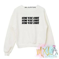 How you dare BTS Mic Drop // Kpop Crewneck Sweatshirt