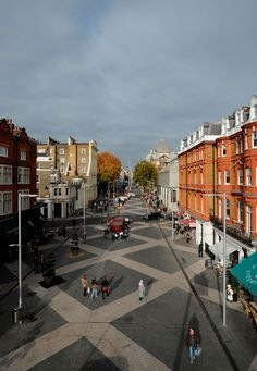 Exhibition Road- Shared Space
