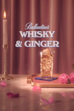 Romeo & Juliet's got nothing on this sweet pairing. Mix up a Ballantine's and Ginger for proof that the course of true love can run smooth, and sweet with a little bit of ginger kick too. Graphic Design Posters, Graphic Design Inspiration, Graphic Design Trends, Still Life Photography, Art Photography, Layout Design, Design Art, Photo Food, Cocktail Photography