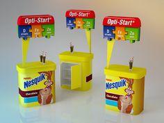 Display for Nestle on Behance
