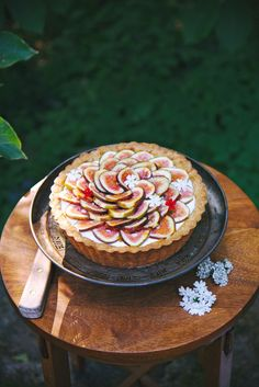Fig, Rosemary, and Lemon Tart |