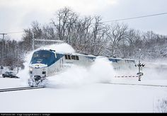 RailPictures.Net Photo: AMTK 34 Amtrak GE P42DC at Battle Creek, Michigan by Aaron C. Schlegel