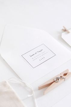 hand glued labels | follow paper co.