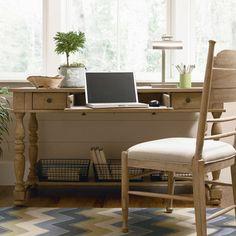 Down Home Desk in Oatmeal