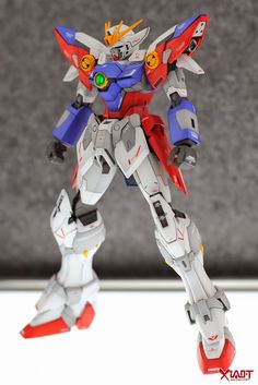 GUNDAM GUY: MG 1/100 Wing Gundam Proto Zero EW - Customized Build