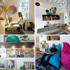Graphics Offices Designs Graphic Overload: The Office of Blik Lifework