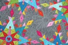 You have to see Hand Quilting by Susan Cleveland!