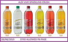 Slimming world Aldi drinks