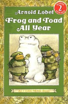"""""""Frog and Toad All Year"""" - Arnold Lobel  (1976, Picture Books)"""