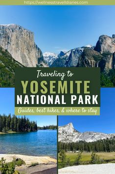 Traveling To Yosemite Park? Here's What You Need To Know - Wellness Travel Diaries Yosemite National Park, National Parks, Best Hikes, Diaries, Traveling, Hiking, Wellness, Usa Travel, Travel Tips