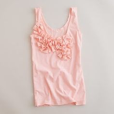 3 Sweet P's: From sheet to chic in 30 min. JCrew inspired tank