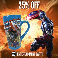 DEAL OF THE DAY Captain America: Civil War Is here! Save 25% on Captain America Must-Haves! Friday, May 06, 2016  IN STOCK NOW! Today's the day! Captain America: Civil War is here! For 24 hours only, get 25% off select Captain America items.  From action figures to model kits, hats, and mugs Celebrate Captain America's 75th Anniversary with us at our Make Mine Marvel page  TO BUY NOW CLICK LINK BELOW http://tomatovisiontv.wix.com/tomatovision2#!action-figure/c1t9c
