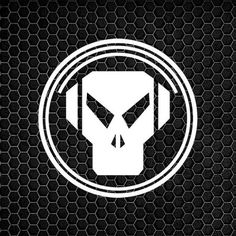 nice Metalheadz Records Logo Vinyl Decal