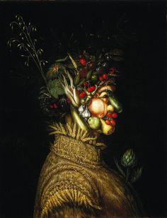 Giuseppe Archimboldo / Summer / 1572 / Oil paint on canvas