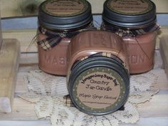 Maple Syrup Festival candle country jar by MoeggenborgSugarBush, $8.00 Tapping Maple Trees, Sugar Bush, Half Pint, Candle Warmer, Candle Containers, Mason Jar Candles, Burning Candle, Maple Syrup, Food Grade