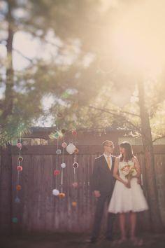 wedding poms