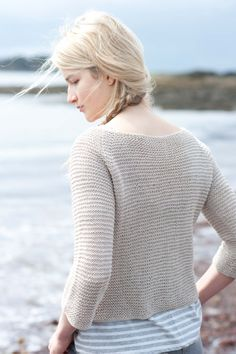 casco bay cardi  by carrie bostick hoge / quince & co sparrow