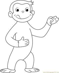coco der neugierige affe 6 | coloring 5 | malvorlagen zum ausdrucken, malvorlagen für kinder und