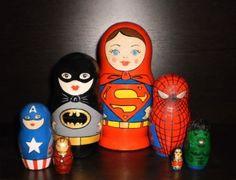 Superheroes, slightly dipped in semiotics