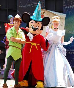 peter pan mickey mouse cinderella disney princess walt disney world