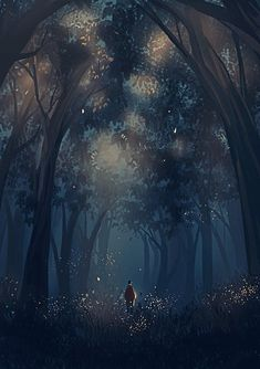 Ideas For Nature Forest Illustration Fantasy World, Fantasy Art, Japon Illustration, Forest Illustration, Wow Art, Anime Scenery, Fantasy Landscape, Aesthetic Art, Aesthetic Wallpapers