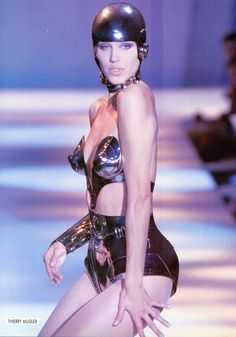 Emma for Thierry Mugler, s/s 1991  #Fashion #Scifi