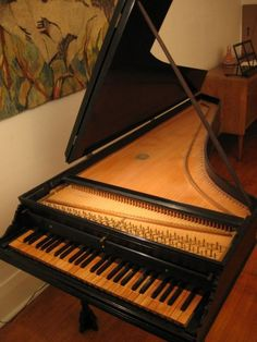 Claviers Baroques used Italian single-manual harpsichord. Someday...