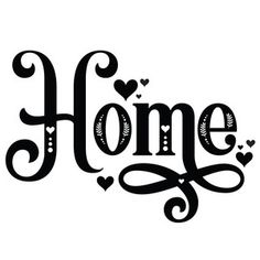 Silhouette Design Store: Home Decorative Word Cricut Svg Files Free, Cricut Fonts, Cricut Vinyl, Cricut Banner, Silhouette Design, Cricut Explore Air, Cricut Creations, Stencils, Letters