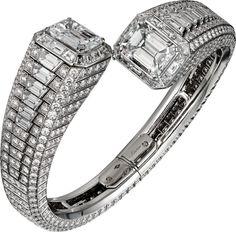 Diamond Bracelets, Cuffs & Bangles : Cartier Diamond Bangle - Buy Me Diamond The Bangles, Diamond Bracelets, Diamond Jewelry, Bangle Bracelets, Necklaces, Luxury Jewelry, Modern Jewelry, Fine Jewelry, Cartier Jewelry