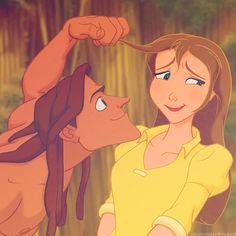 Tarzan y Jane, Tarzan