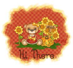 . Hi Gif, Hi Images, Hi Quotes, Hello Goodbye, Good Night Gif, Morning Gif, Teddy Bear, Animation, Zig Zag