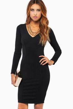 Sexy and elegant black dress!