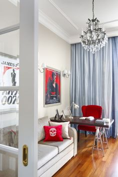 Gabinet, pokój gościnny, sofa