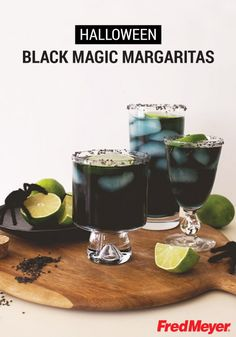 It's spooky how delicious these Halloween Black Magic Margaritas from Inspired Gathering are! This simple cocktail recipe is the perfect inspiration for giving your party a festive twist.