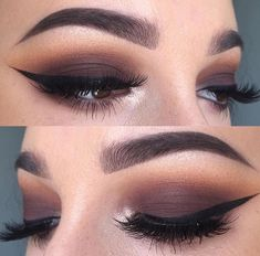 Brown smokey eyes Pinterest: @JENNY
