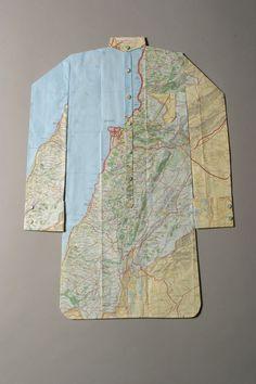 Paper dress shirt. Elisabeth LeCourt.