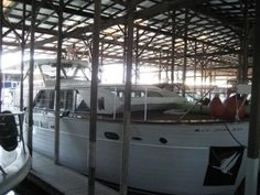 Beautiful boat in covered shed!!