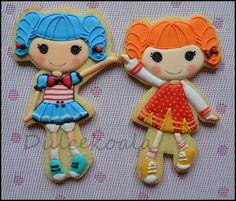 Galletas decoradas lalaloopsy.   Lalaloopsy decorated cookies