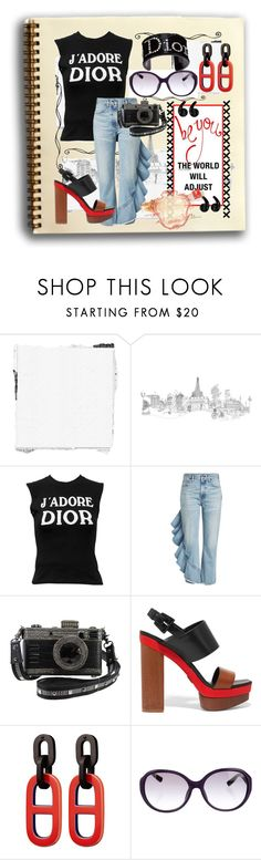 """""""Dior World"""" by sotrue-creatoure-of-stylee ❤ liked on Polyvore featuring Marta Bevacqua, Christian Dior, Citizens of Humanity and Michael Kors"""
