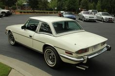 Learn more about BaT Nemesis: A Perfect 1973 Triumph Stag on Bring a Trailer, the home of the best vintage and classic cars online. Classic Cars British, British Car, Triumph 2000, Car Rover, Vintage Sports Cars, Classic Cars Online, Car Brands, Coventry, Sport Cars