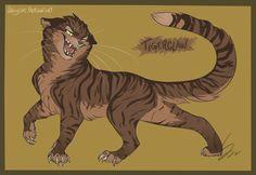 Warrior Cats - Tigerclaw by VanyCat.deviantart.com on @DeviantArt